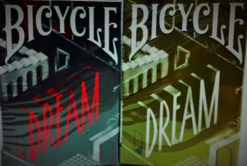 Bicycle Dream Playing Cards 2 Deck Set - Limited Edition - SEALED