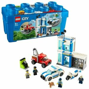 Lego City 60270 Police Brick Box Set - 301 Pieces Includes 4 Minifigures