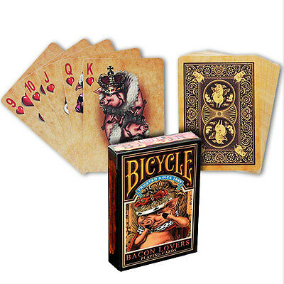 Bicycle Bacon Lovers Deck - Playing Cards - Magic Tricks - New