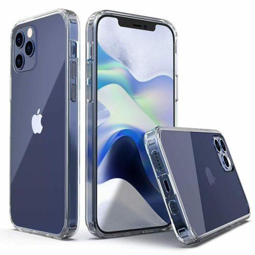 CLEAR-CASE-For-iPhone-12-11-Pro-Max-Mini-XS-XR-SE-X-8-7-Protector-Silicone-Cover