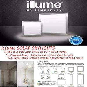 LED Skylights Solar Powered Illume Premium Range Advanced ...