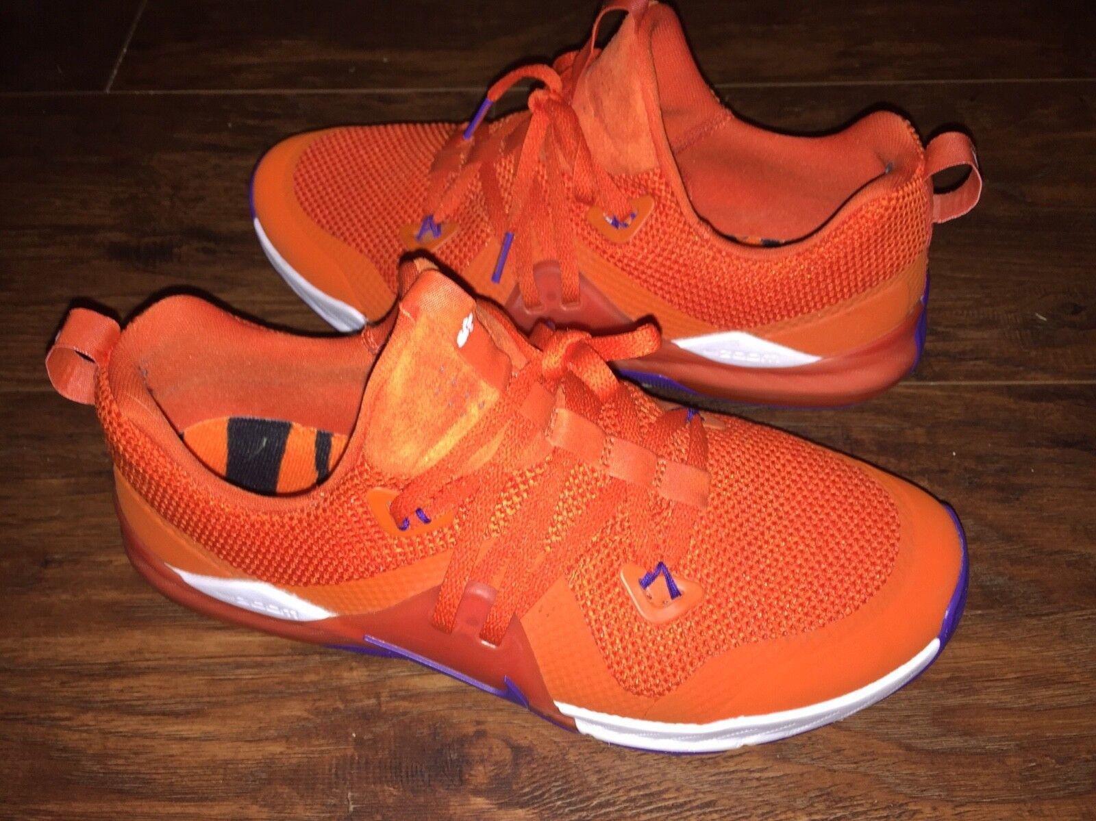 Nike clemson mens verwendet schuhe größe 9 verwendet mens zustand 3741aa