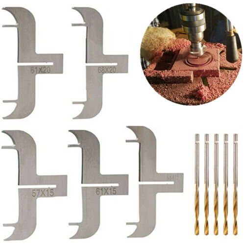 12PCS Multifunction Bracelet Drill Milling Bead Drill Router Bit Woodworking Set