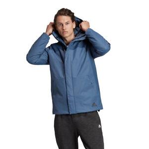Adidas DZ1428 Men's Lifestyle Xploric 3-Stripes Tech Ink Jacket