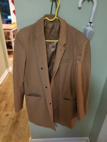 Barkers Large Wool Camel Topcoat