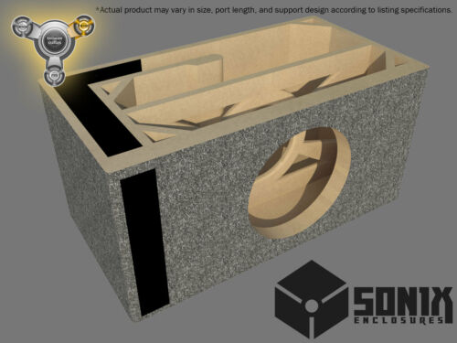 PORTED SUBWOOFER MDF ENCLOSURE FOR MTX 9512 SUB BOX STAGE 3