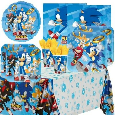 Sonic The Hedgehog Party Supplies Tableware Decorations Balloons Ebay