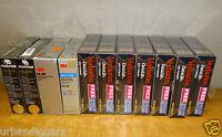 """12460/ Vintage 11 Packs Sealed 5 1/4"""" Diskettes  Factory Sealed 119 Total DISKs"""