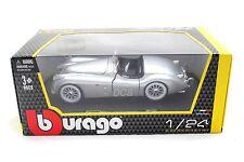Bburago 1951 Jaguar XK120 Roadster Silver 1/24 Diecast Car Model 22018
