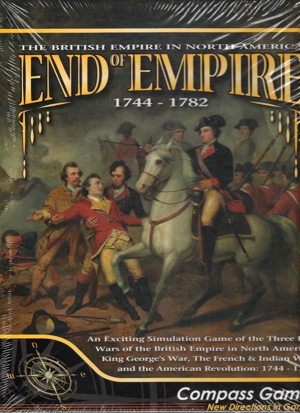 Compass Games  End of Empire 1744-1783 board game New shrink-wrap
