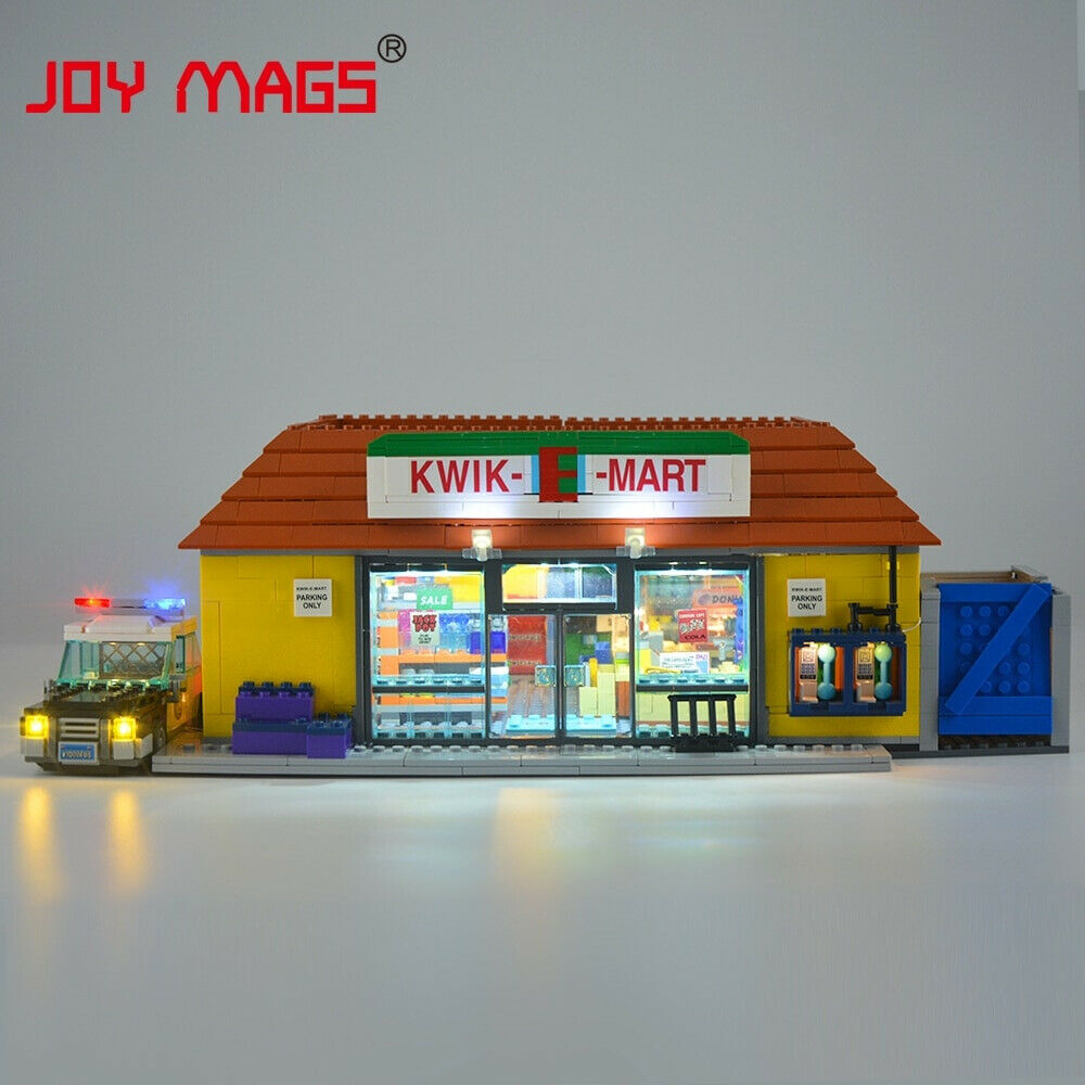 Advanced version of LED Light Kit ONLY For Lego 71016 Simpsons The Kwik-e-mart