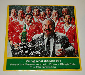 image is loading vtg mitch miller christmas singing music promo record