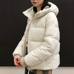 White Down Parka