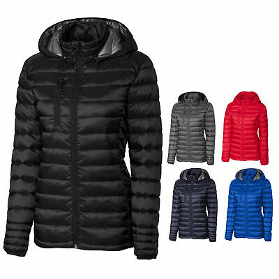 Clique Detachable hood S-XL Ladies Lightweight Padded Jacket