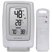 Acurite 00611a3 Wireless Indoor/outdoor Thermometer And Humidity Sensor , New, F on sale