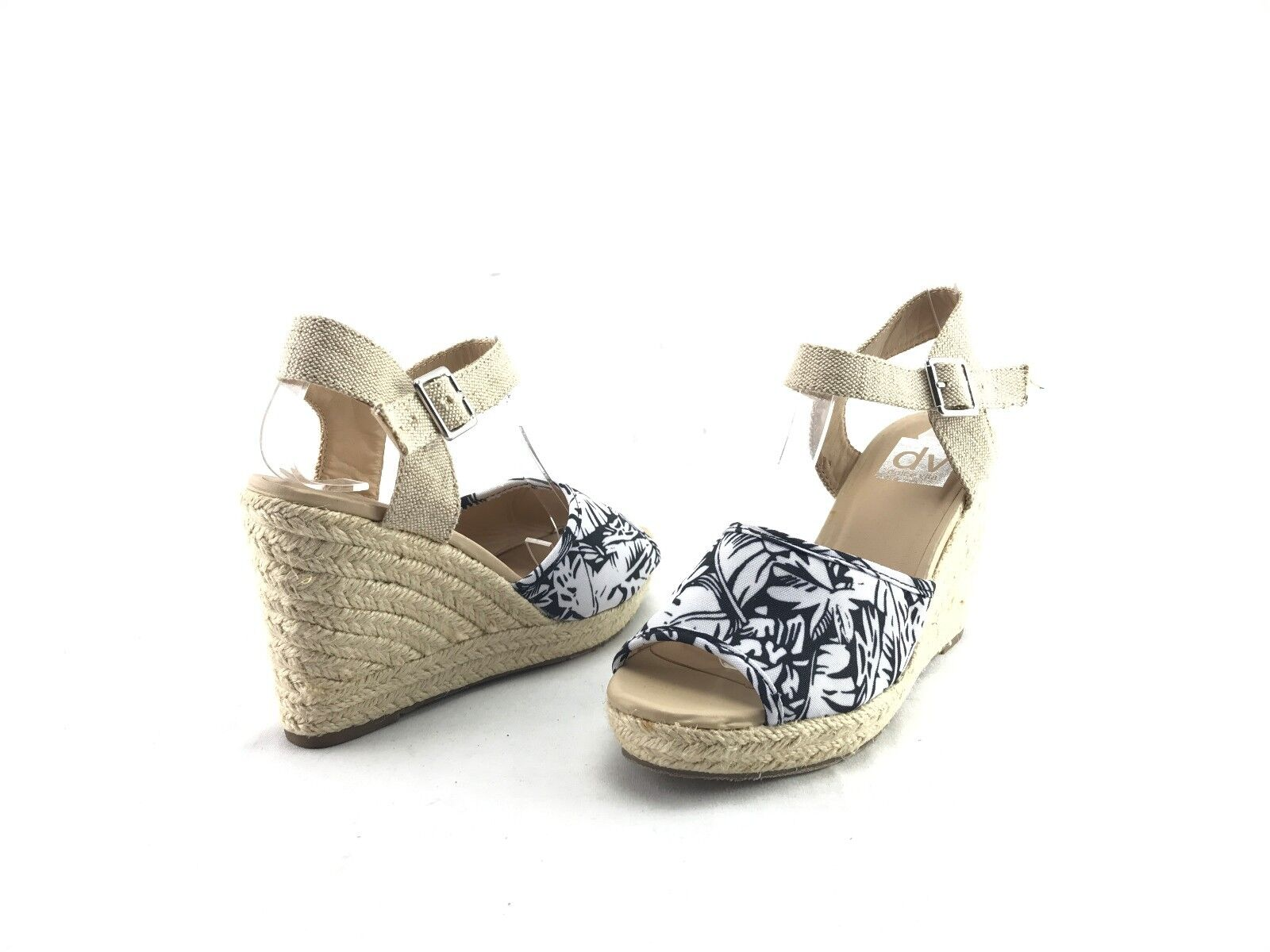 NEW Dolce Vita Damens's Beige Open Toe Strap 7 Wedge Sandales US Größe 7 Strap M Schuhes #A35 df099a