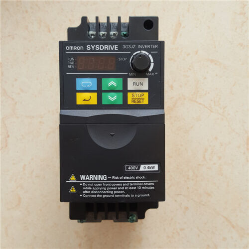 Omron converter  3G3JZ-A4004 3G3JZ 0.4KW 380V   tested