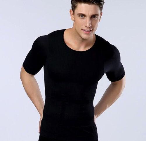 Best Mens Firm Tummy Belly Abdominal Firm Control Underwear Shirt Vest Tank Top