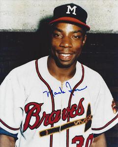1960-039-s-Mack-Jones-Milwaukee-Braves-signed-photo-8x10-AUTO-D-Autographed