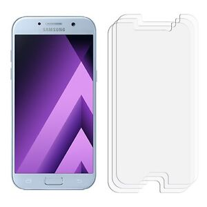 2 x Clear LCD Screen Protector Film Foil Saver For Samsung Galaxy A5 2017