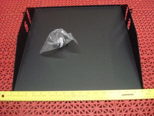 "APW Mayville CES1919SM 19/"" Rackmount Center Weight Shelf w//Hardware Black NEW"