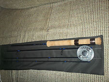 "Custom built fly or spinning rod,  7'6"" 4pc. 4wt.  Travel model, new & versatile"