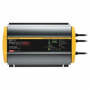 ProMariner 44020 ProSportHD 20 Gen 4 - 20 Amp - 2 Bank Battery Charger