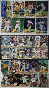 2018-Topps-Series-1-2-Update-Pittsburgh-Pirates-Team-Set-of-30-Baseball-Cards