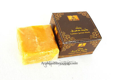 Golden Jamid MUSK Natural Organic Arab solid Perfume - Alcohol FREE