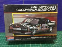 1988 Monogram 1/24 Dale Earnhardt Stock Car Model Kit 2900 Nascar (sealed)
