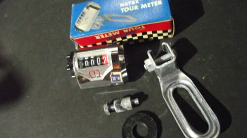 "MATEX BICYCLE TOUR METER 20/"" NEW IN BOX FROM THE 60S"