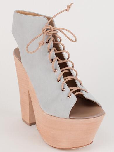 Nouveau Giuseppe Zanotti BLEU CLAIR FUNKY Lacets Sandales Taille 36 US 6