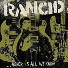 Honor Is All We Know 8714092727128 by Rancid CD