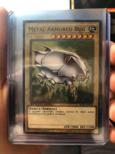 Metal Armored Bug 1st Yugioh SBTK-EN010 Common Speed Duel NM