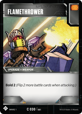 R077 The Bigger They Are.. - Wave 1 Transformers TCG