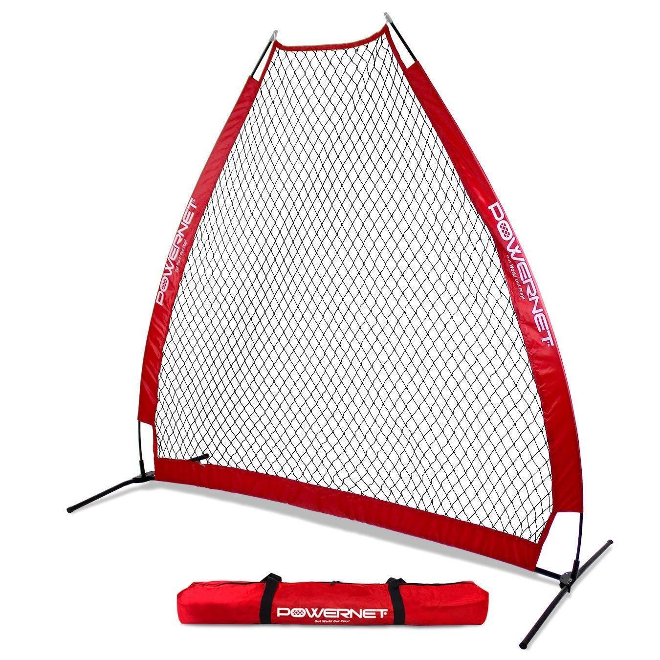 Powernet portátil projoección de lanzamiento de béisbol a-Frame Pantalla Net   Colors del equipo