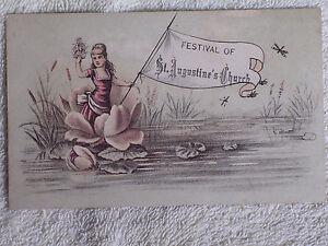 4th Annual Picnic Amp Festival Aug 16 1882 St Augustine S P