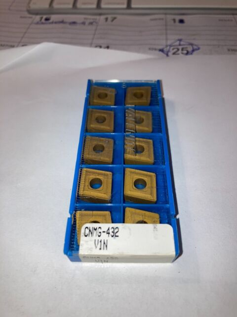 10PCS new VALENITE CNMG-432 VIN Carbide Inserts
