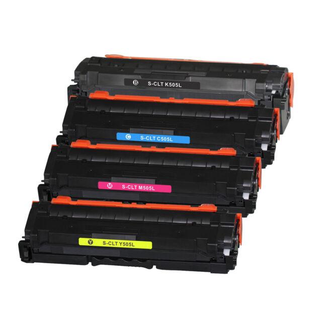 4 Gneric toner CLT-K505L CLT-C505L CLT-M505L CLT-Y505L for SL-C2620 C2670 C2680