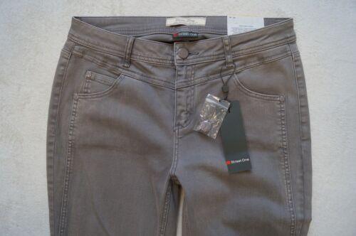 31 32 33 L32 Slim Fit Stretch grau NEU Street One  YORK Jeans  W30