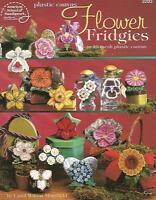 Flower Fridgies Floral Magnets Plastic Canvas Instruction Patterns Asn 3203