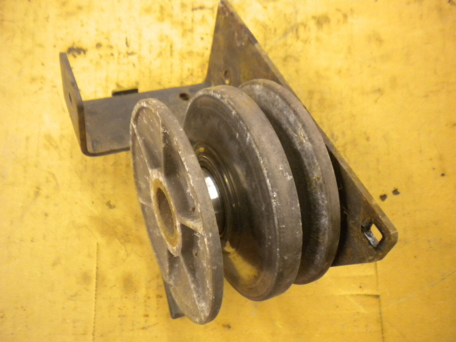 1987 John Deere SX95 mower variable speed drive pulley