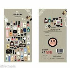 Maquillaje Cosméticos Belleza en punto Scrapbook Diario álbum Decoración Pegatinas Scrapbook