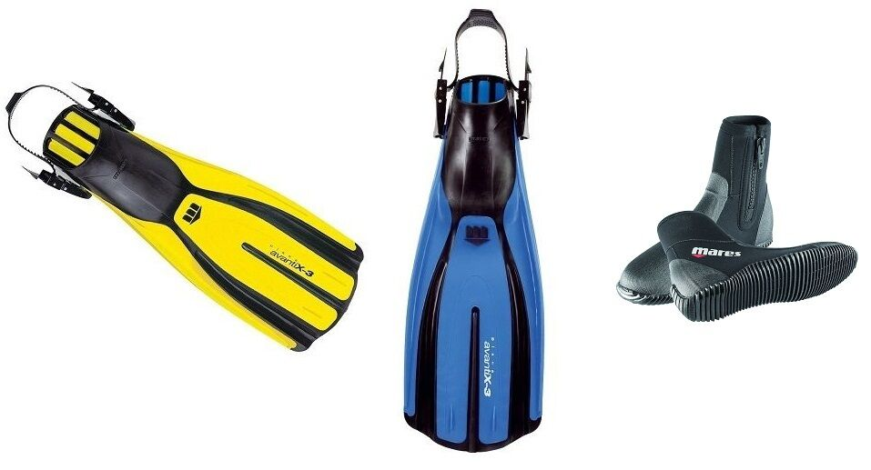 Mares Plana Avanti X3 Geräteflossen mit Taucherfüßlinge alle Größen und Farben