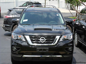 Image Is Loading 1987 2017 Hood Scoop For Nissan Pathfinder By