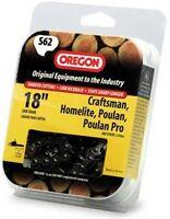 Oregon S62 18-inch Semi Chisel Chain Saw Chain Fits Craftsman, Homelite, Poulan on sale