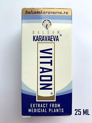 Vitaon balsam Karavaeva: instrucțiuni de utilizare