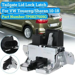 Rear Tailgate Boot Trunk Lid Lock Latch For VW/Touareg/Sharan 10-18 #7P0827505G