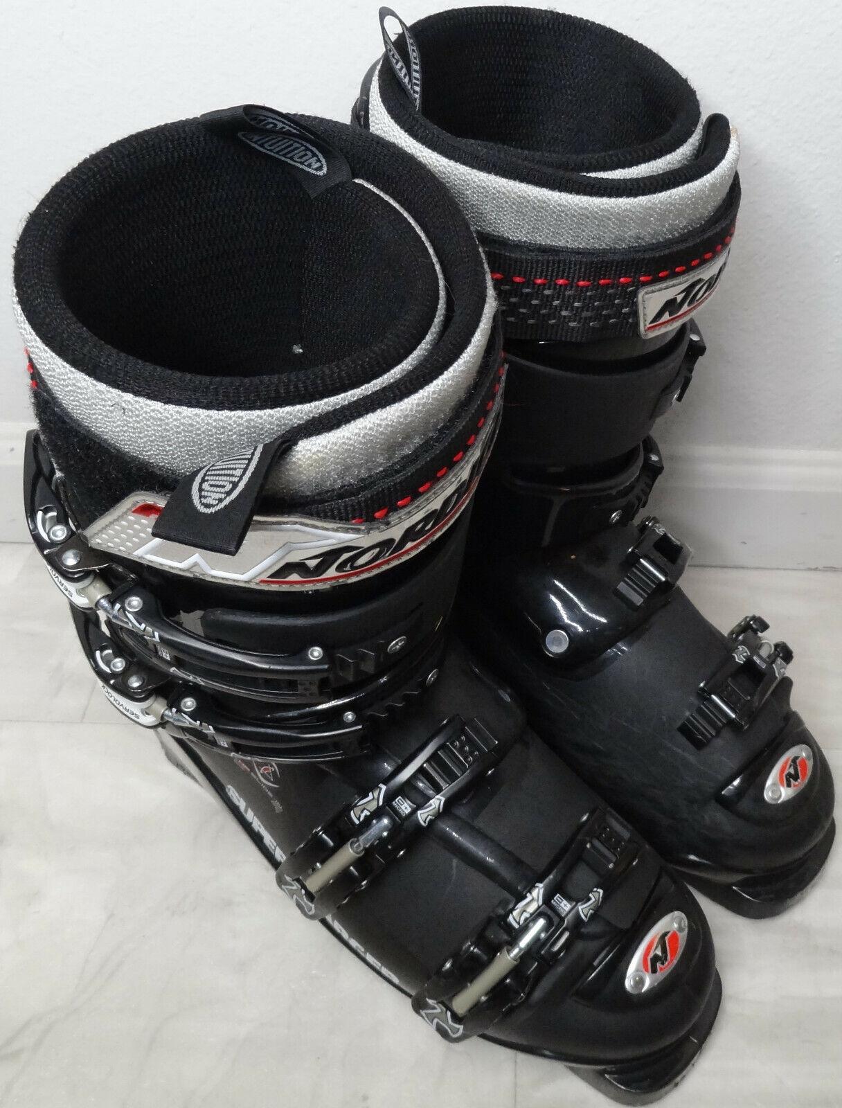 Nordica Super Charger Flash Ski Stiefel Mondo Größe 27.5 US Mens 9.5 US damen 10.5