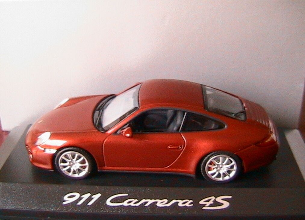 PORSCHE 911 997 FACELIFT CARRERA 4S COUPE COUPE COUPE 2009 RED METAL MINICHAMPS WAP0201718 96bc74
